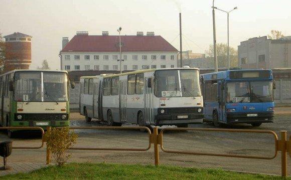 Автовокзал Выхино, автобусная