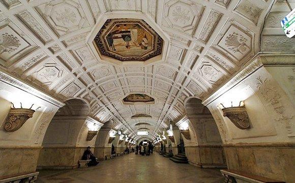 Станция метро Белорусская в