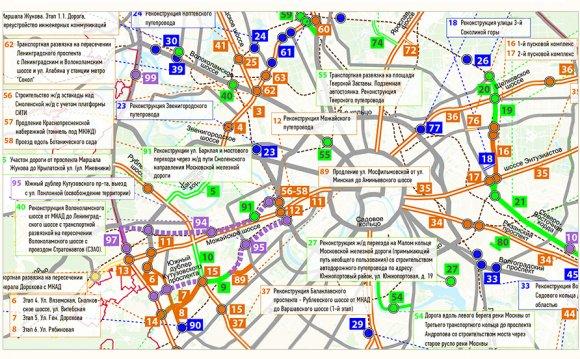 Карта строительства и