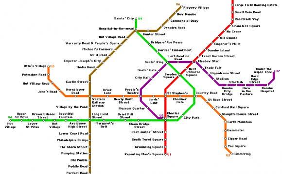 Схемы и карты общественного