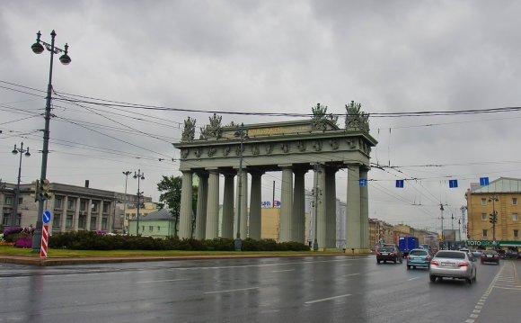 метро Московские ворота