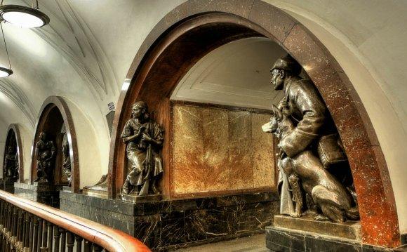 Фотографии метро Москвы