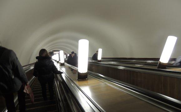 Московские станции метро