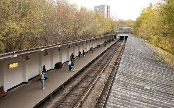 Станция метро Фили :
