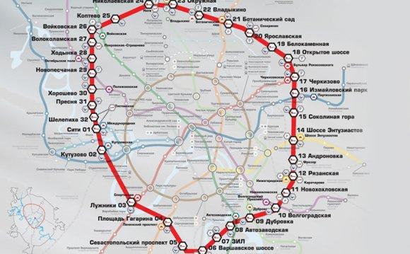 На карту московского метро
