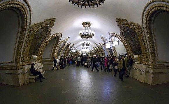 Станция московского метро «