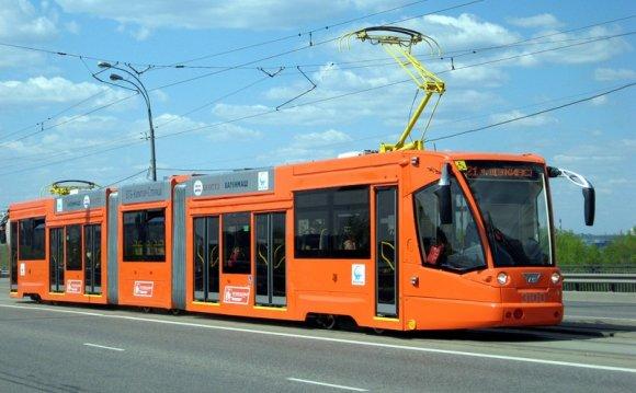 Скоростной трамвай в
