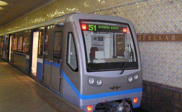 Работа московского метро на