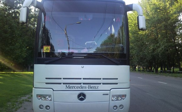 Рейсовый автобус из Москвы в