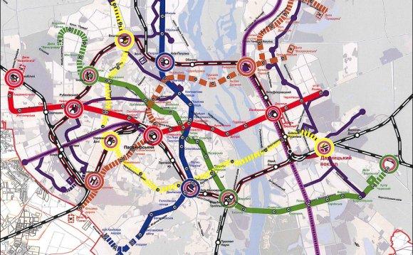 схема метро (2015 г.)