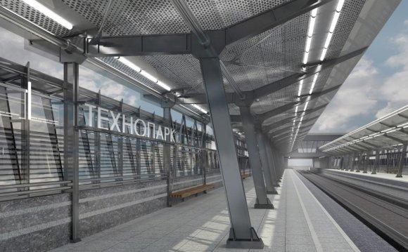 Станцию метро Технопарк