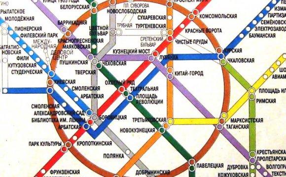 Кольцевая линия московского
