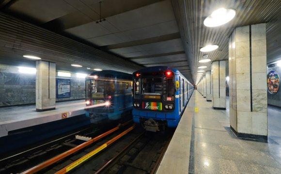 1. Станция метро Речной вокзал
