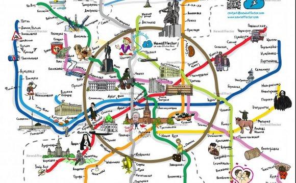 народная схема метро