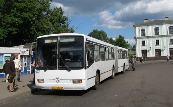 такси городские автобусы