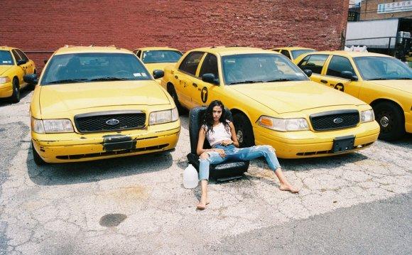 Такси Девушка