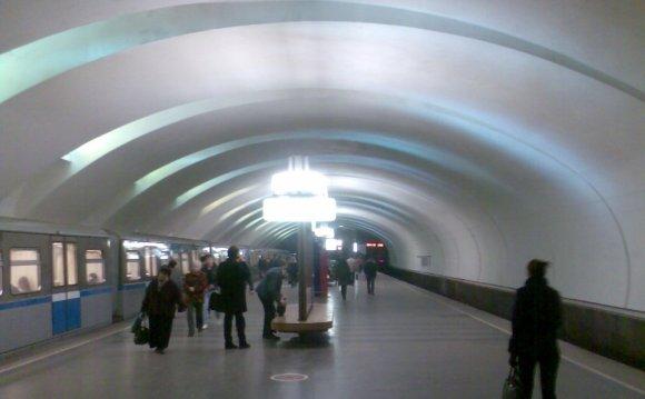 Станция метро Крылатское